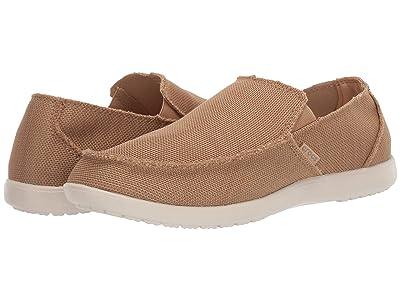 Crocs Santa Cruz Downtime Slip-On (Tan/Tan) Men