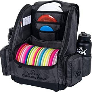 Dynamic Discs Commander Backpack Disc Golf Bag | 20 Disc Capacity | Two Deep Storage Pockets | Two Water Bottle Holders | ...