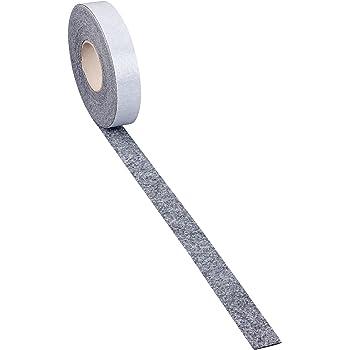 10m Filzstreifen 15mm breit Filzband weiß stark selbstklebend 2mm dick