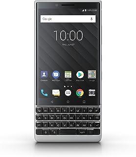 BlackBerry KEY2 64GB (Single-SIM, BBF100-1, QWERTY Keypad) Factory Unlocked SIM-Free 4G Smartphone (Silver) - Internationa...