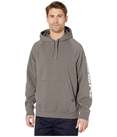 Timberland PRO Hood Honcho Sport Pullover (Dark Charcoal Heather/White) Men