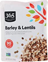 365 by Whole Foods Market, Ready-to-Heat Mixes, Barley & Lentils, 8.8 Ounce