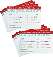 Positive Postcards from Teachers to Students, 50 Cards, Motivational Notes from Teachers, Classroom Teaching Supplies for Preschool, Kindergarten, and Elementary School Teachers (Did You Know?)