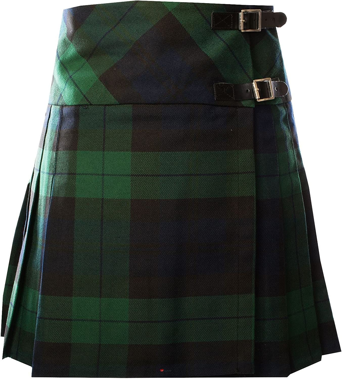 ILuv Ladies Deluxe Billie Kilt Black Watch Tartan