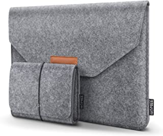 HOMIEE MacBook Pro 13 Inch Sleeve Felt Laptop Protective Case for 2016-2018 MacBook Pro, 2017-2018 MacBook Air, 12.9