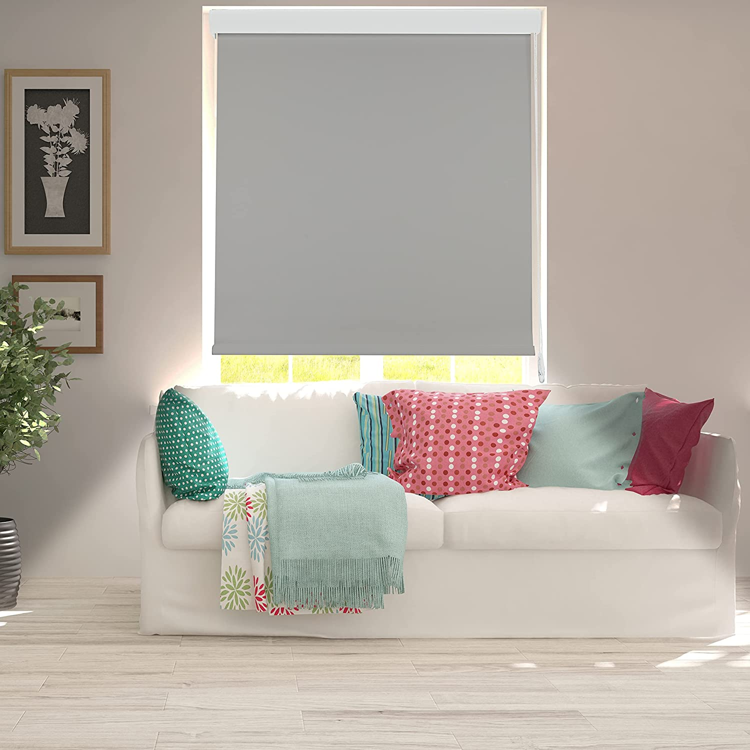 Large discharge sale ShadesU %100 Blackout Window Roller Shades for Blinds wholesale and