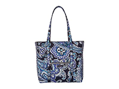 Vera Bradley Vera Tote (Deep Night Paisley) Tote Handbags