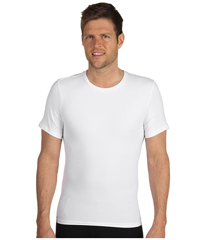 Spanx for Men Cotton Compression Crew (White) Men