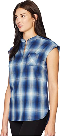 Jane Wool Plaid Popover