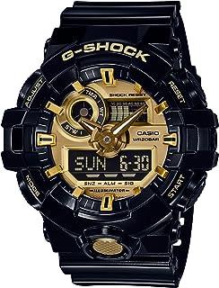 [カシオ] 腕時計 ジーショック G-SHOCK GA-710GB-1AJF メンズ ブラック