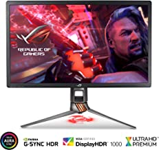 ASUS ROG Swift PG27UQ 27in 4K UHD 144Hz DP HDMI G-SYNC HDR Aura Sync Gaming Monitor with Eye Care (Renewed)