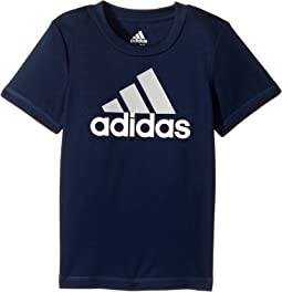 adidas Kids Clima Performance Logo Tee (Toddler)