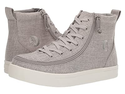 BILLY Footwear Classic Lace High Chambray (Grey Jersey) Men