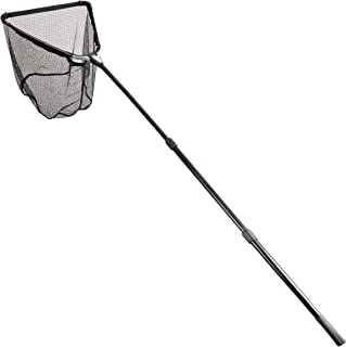 Fiblink Folding Aluminum Fishing Landing Net Fish Net with Extending Telescoping Pole Handle