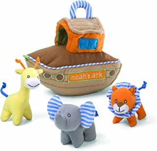 Gund Baby Noah's Ark Eight Inch Playset Multi Part Soft Toy