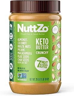 NuttZo Keto Nut Butter, Seven Nuts & Seeds, 26 Ounce