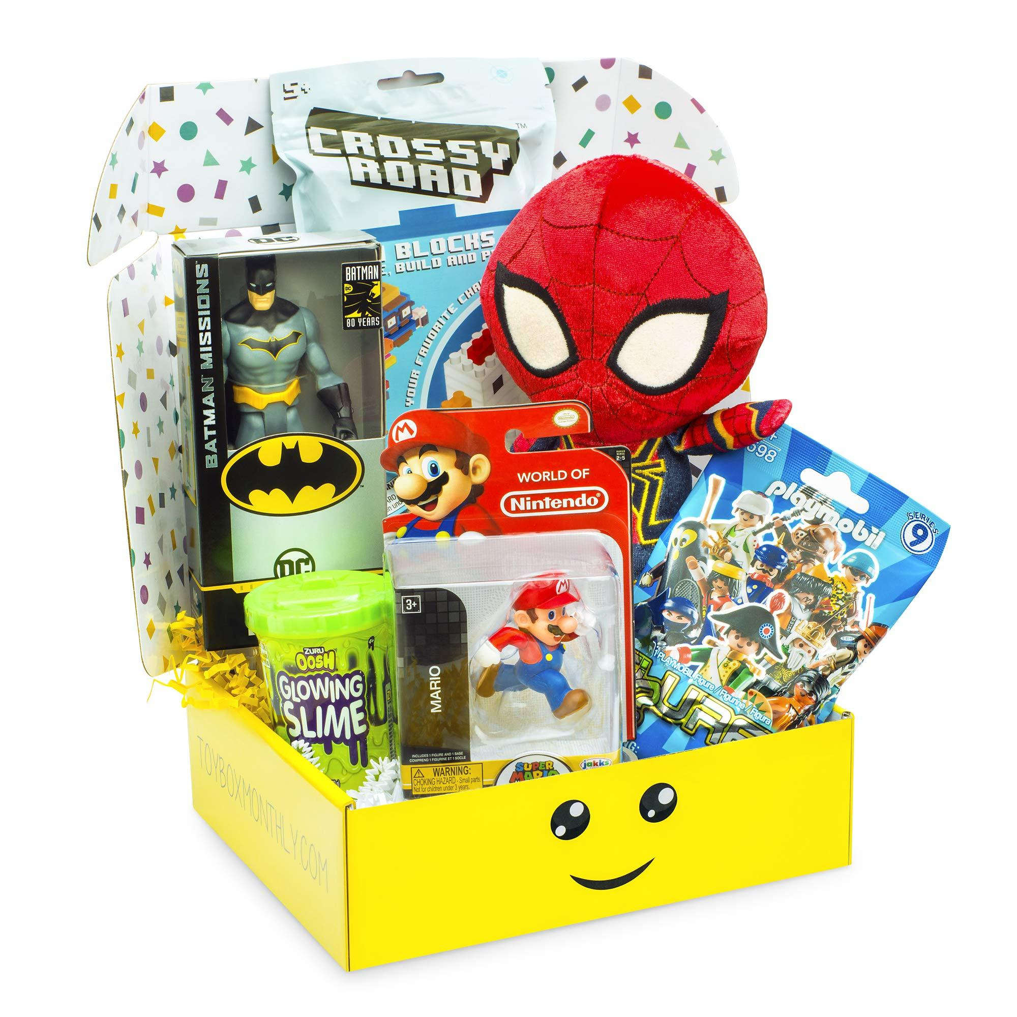 Toy Box Monthly - Kids Toy Subscription Box: Boys Ages 4 to 8