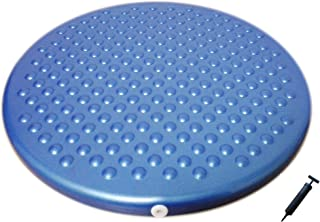 AppleRound Jr. Inflatable Seat Cushion with Pump,  31cm/12in Diameter,  Sensory Wiggle Seat for Kids