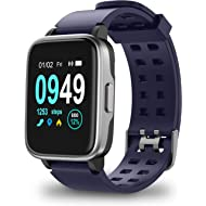 Updated 2019 Version Smart Watch for Android iOS Phone, Activity Fitness Trackers Health Exercise...