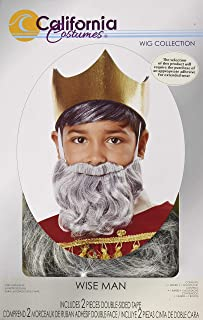 California Costumes Wise Man Beard & Moustache - Child