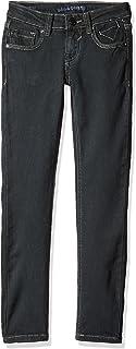 VIGOSS Big Girls Skinny Cargo Pants 12 Black