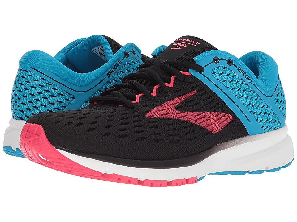 Brooks Ravenna 9 (Black/Blue/Pink) Women