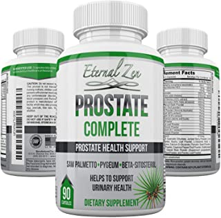 Prostate Complete Saw Palmetto Pygeum Beta-sitosterol 90 Count Capsules