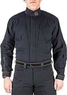 5.11 Tactical Men's XPRT Uniform Work Long Sleeve Shirt, Teflon Finish, Ripstop Fabric, Style 72091