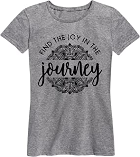 Find The Joy in The Journey - Ladies Short Sleeve Classic Fit Tee