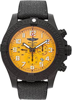 Breitling Avenger Mechanical (Automatic) Yellow Dial Mens Watch XB0170E41/1152 (Certified Pre-Owned)