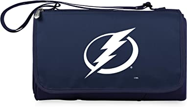 NHL Tampa Bay Lightning Outdoor Picnic Blanket Tote, Navy