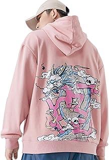XYXIONGMAO Street Men's Japanese Hoodie Dragon Graphic Super Dalian Hoodie Hip Hop