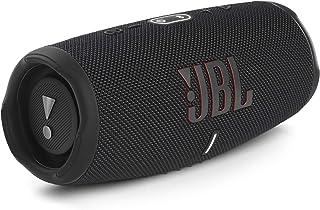 JBL Charge 5 Bluetooth-Lautsprecher in Schwarz – Wasserfeste, portable Boombox mit integrierter Powerbank und Stereo Sound...