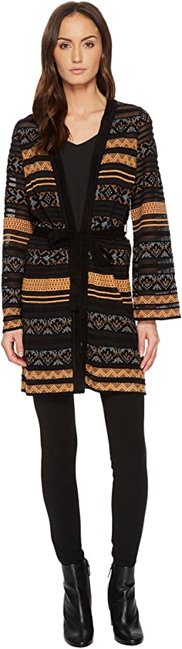 M Missoni - Chenille Ribbon Knit Cardigan