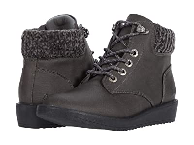 Blowfish Kids Chomper-K (Little Kid/Big Kid) (Grey Saddle Rock/Charcoal Vanity Knit) Girls Shoes
