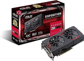 Asus AREZ-EX-RX570-O8G-Gaming AMD Radeon - Tarjeta gráfica (PCIe 3.0, 8 GB de Memoria GDDR5, Compatible con VR, DVI, HDMI, Display Port)