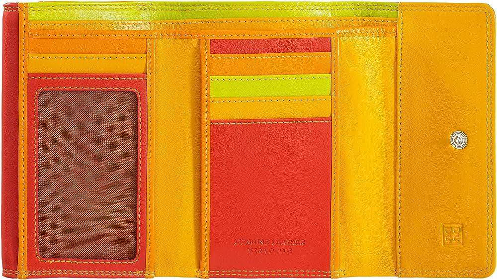dudu portafoglio per donna in pelle porta carte di credito con protezione anticlonazione 8031847129908