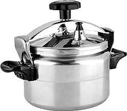 Royalford RF8949 Pressure Cooker, Silver, 11 Litre, Aluminum