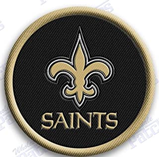 NEW ORLEANS SAINTS IRON ON patches patch FOOTBALL NFL SUPER BOWL