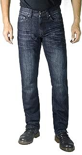 Mens Straight Leg Regular FIT Fashion Jeans