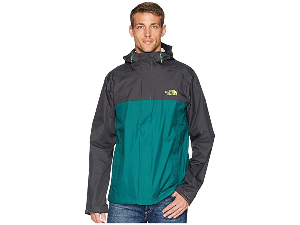 The North Face Venture 2 Jacket (Asphalt Grey/Botanical Garden Green) Men