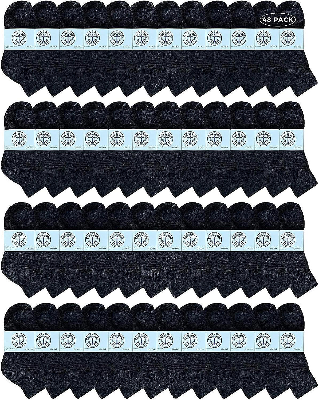 Yacht Smith Wholesale Direct sale of manufacturer Kids Mid Bulk Socks Popular product Ankle Cotton Sport