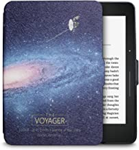 WALNEW Amazon Kindle Voyage(2014) Protective Cover Case PU Leather Cover Smart Hard Shell with Sleep/Wake Function (Kindle Voyage, B-Satellite)