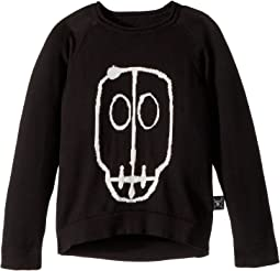 Nununu - Skull Mask Patch Light Knit (Toddler/Little Kids)
