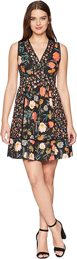 Kate Spade New York Blossom Fit and Flare Dress
