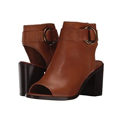 Frye Danica Harness (Brown Smooth Vintage Leather) Women