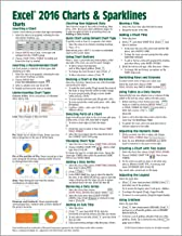 Microsoft Excel 2016 Charts & Sparklines Quick Reference Guide - Windows Version (Cheat Sheet of Instructions, Tips & Shor...