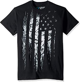 Liquid Blue Americana Tattered and Torn Short Sleeve T-Shirt