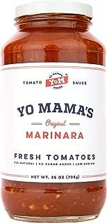 Yo Mama's Keto Friendly Marinara Pasta Sauce – Pack of (1)