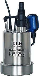 T.I.P. 30440 drainage & zwembadontwateringspomp FlatOne 6000 INOX, vlakabsorberend tot 1 mm, tot 6.000 l/h debiet